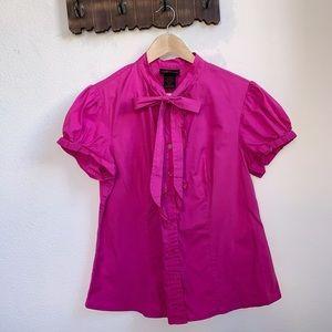 torrid Tops - Torrid | Hot Pink Button Down Shirt